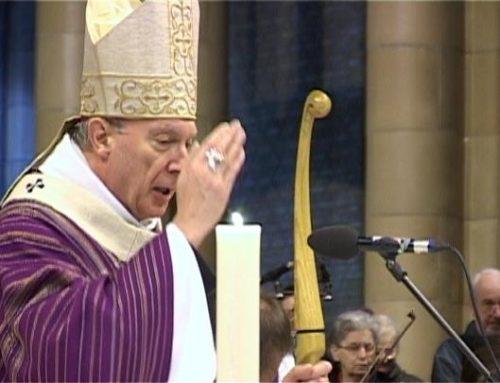 Le «merci» de Mgr Léonard aux messages de sympathie